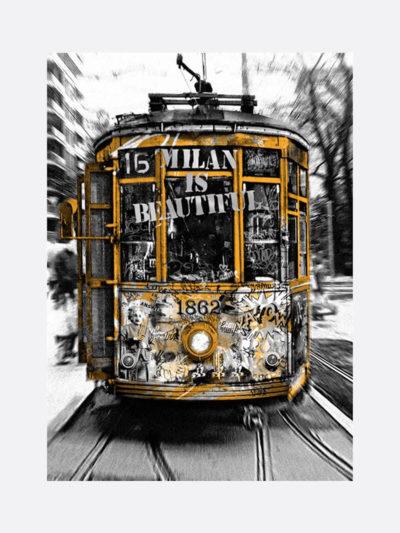 Mr.Brainwash-Life-is-beautiful-Tram-Silver-silkscreen-edition-print-on-paper-2019-1