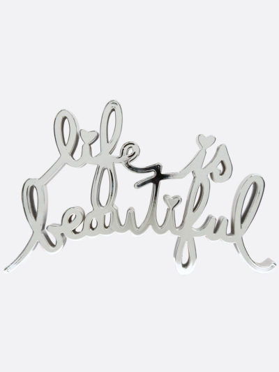 Mr.Brainwash-Life-is-beautiful-8664-MiniLIBMetallic-Chrome