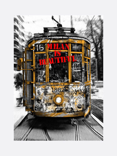 Mr.Brainwash-Life-is-beautiful-Tram-Red-silkscreen-edition-print-on-paper-2019-1