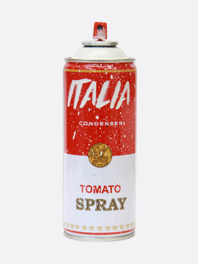 Spray Can Italia White