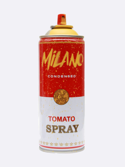 Mr.Brainwash-Spray_Can_Milano-Yellow_Stencil_and_spray_paint_on_alluminium_Can-Limited_Edition-2019