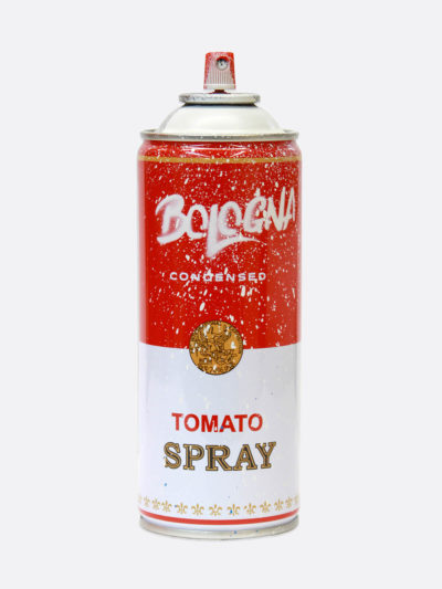 Spray Can Bologna White