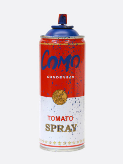 Spray Can Como Blue