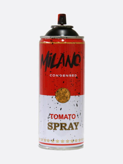 Spray Can Milano Black