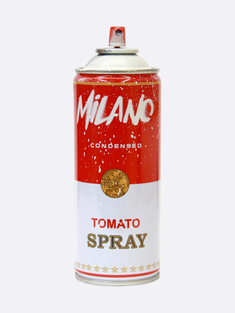 Spray Can Milano White