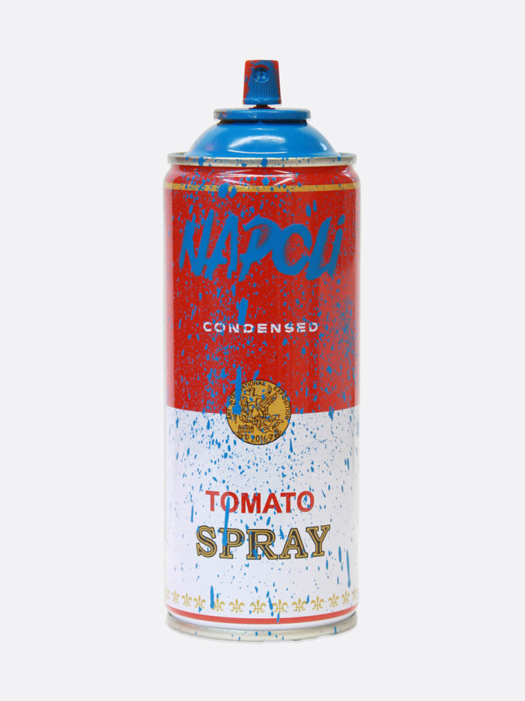 Spray Can Napoli Blue