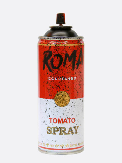 Spray Can Roma Black